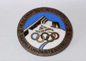 Le Olimpiadi invernali 1936, disputate a Garmisch