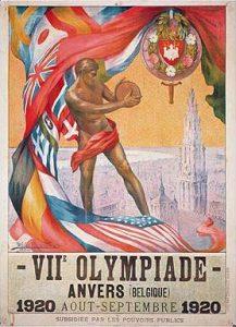 Le Olimpiadi 1920, disputate ad Anversa