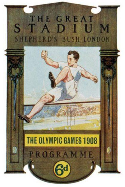 Le Olimpiadi 1908, disputate a Londra