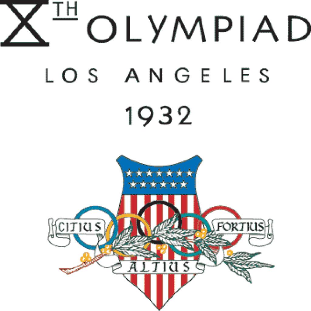 Le Olimpiadi 1932, disputate a Los Angeles