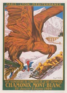 Le Olimpiadi invernali 1924, disputate a Chamonix