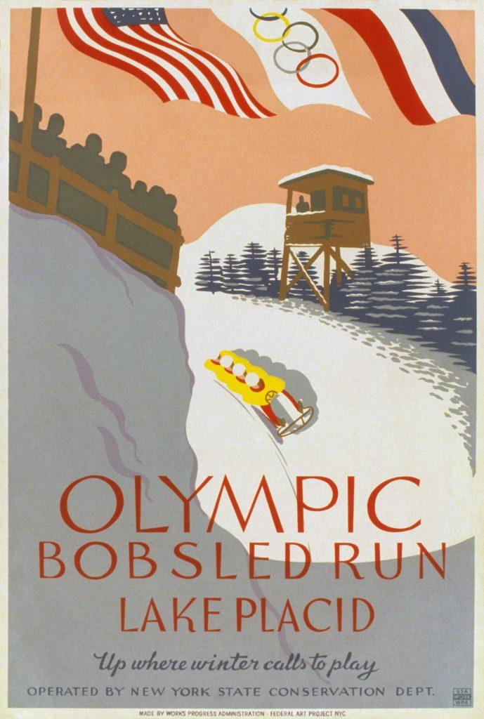 Le Olimpiadi invernali 1932, disputate a Lake Placid