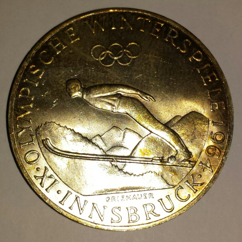 Le Olimpiadi invernali 1964, disputate a Innsbruck
