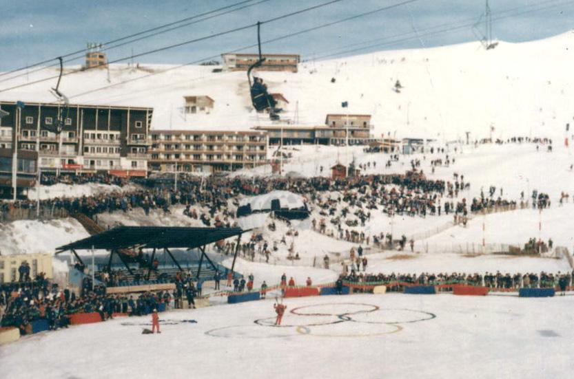 Le Olimpiadi invernali 1968, disputate a Grenoble