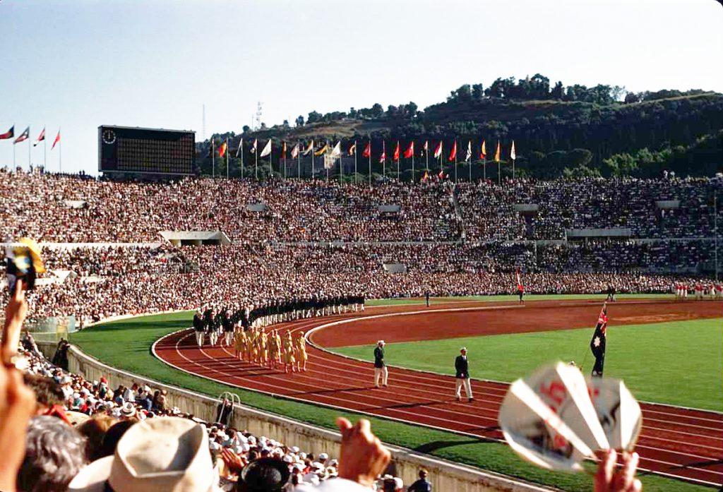 Le Olimpiadi 1960, disputate a Roma