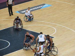 La nazionale italiana impegnata contro Team USA ai Giochi Paralimpici di Londra 2012