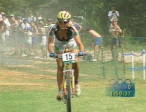 Paola Pezzo: per lei il doppio oro nel cross country alle Olimpiadi 1996 e 2000
