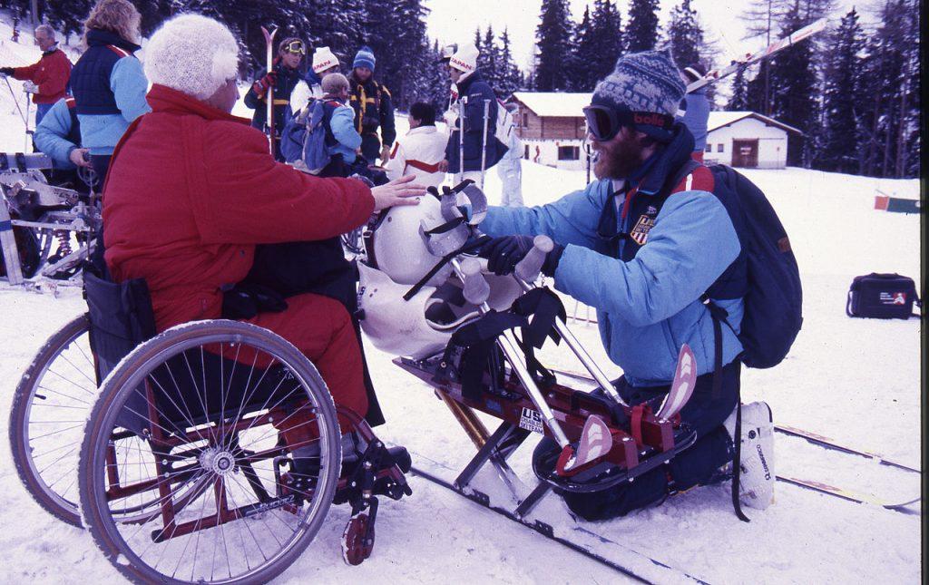 Le Paralimpiadi invernali 1988, disputate a innsbruck