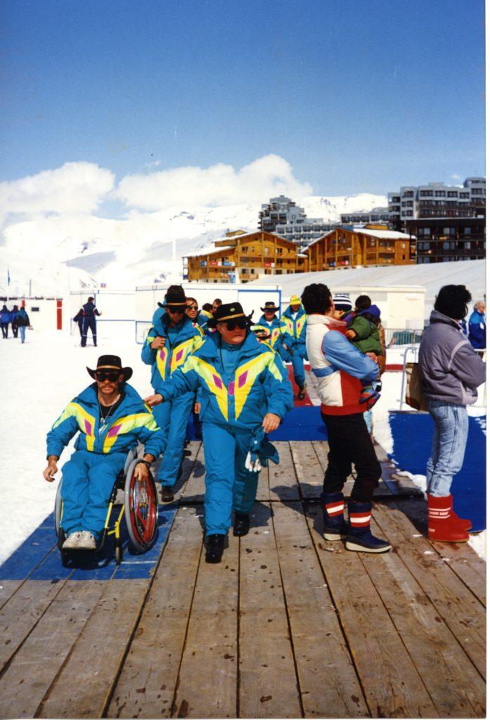 Le Paralimpiadi invernali 1992, disputate a Albertville e Tignes