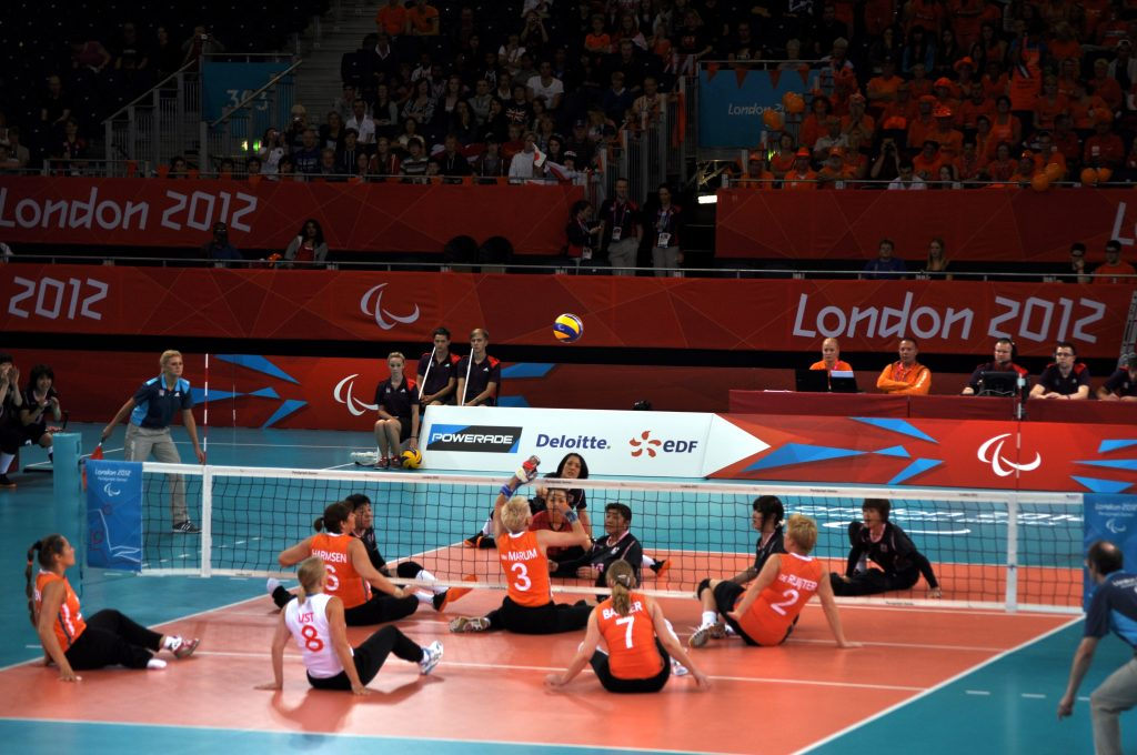 Le Paralimpiadi 2012, disputate a Londra