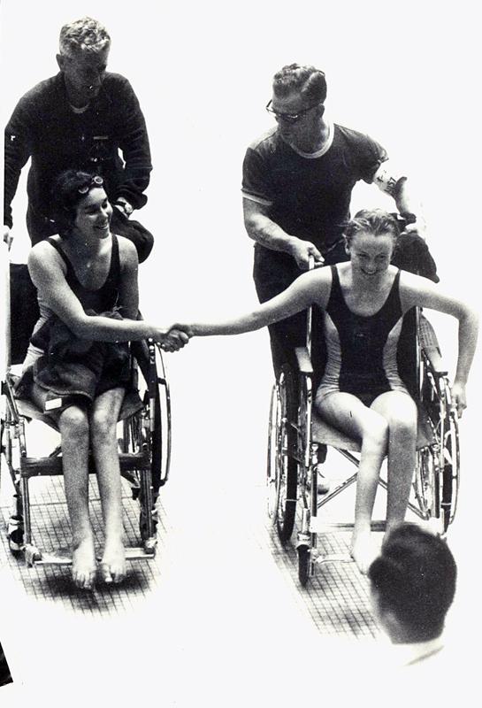 Le Paralimpiadi 1964, disputate a Tokyo
