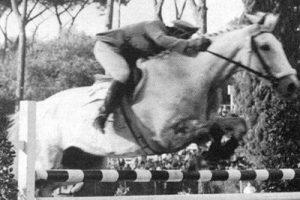 Piero D'Inzeo alle Olimpiadi di Melbourne 1956