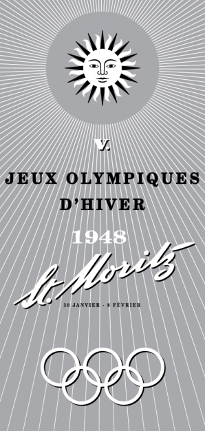 Le Olimpiadi invernali 1948, disputate a St. Moritz
