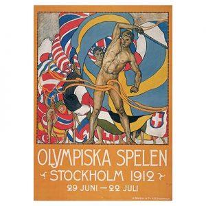 Le Olimpiadi 1912, disputate a Stoccolma