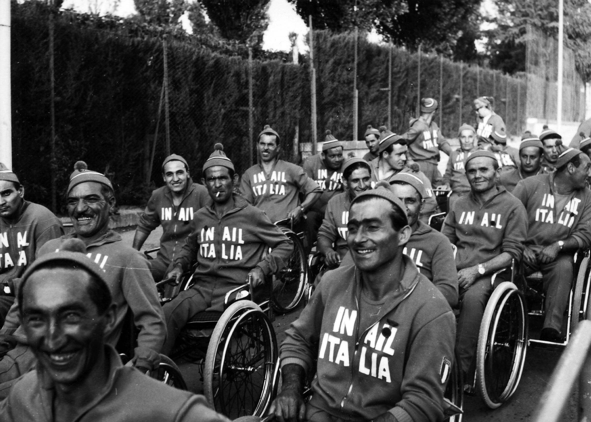 Le Paralimpiadi di Roma 1960