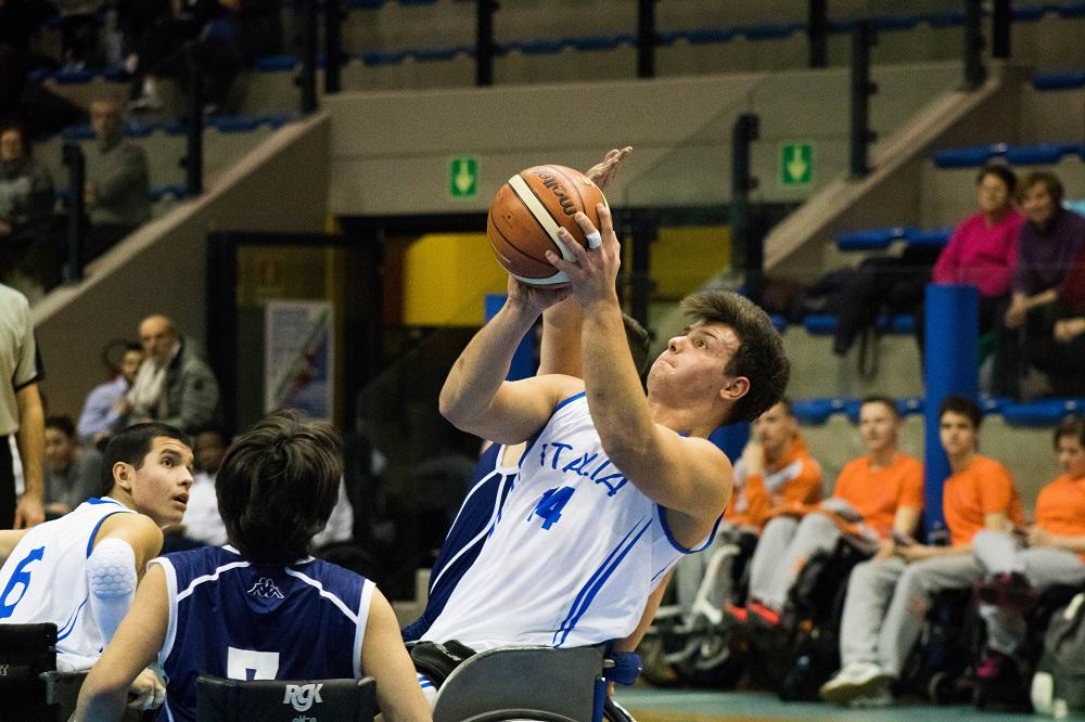 Basket in carrozzina: europei under 22. L'Italia è quarta.