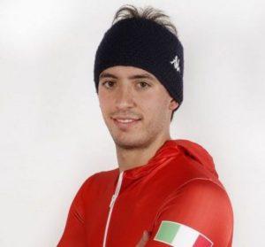 Mattia Gaspari atleta azzurro di skeleton in coppa del mondo 2017