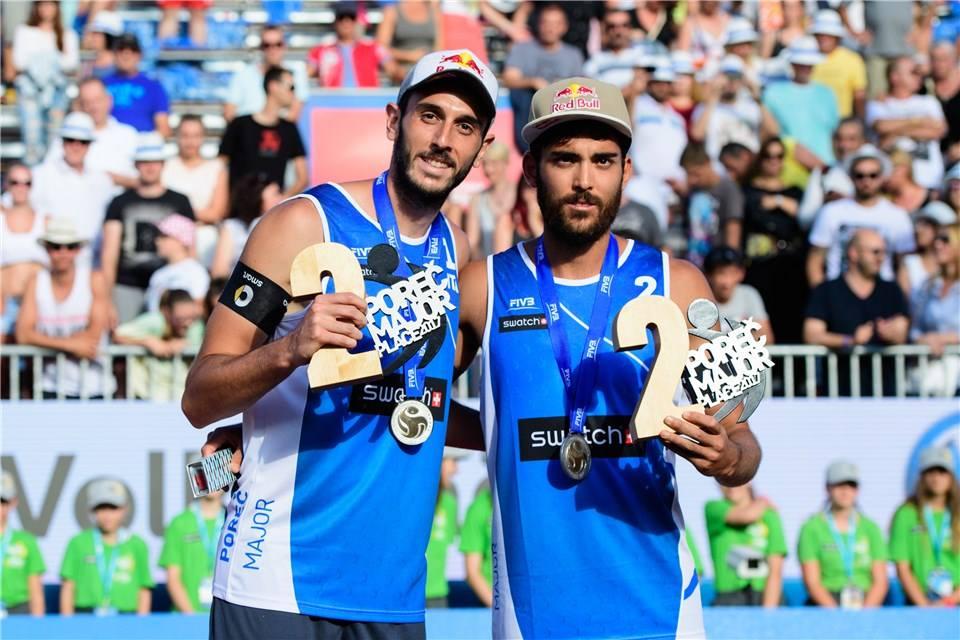 Paolo Nicolai e Daniele Lupo si classificano secondi al Beach Volley World Tour