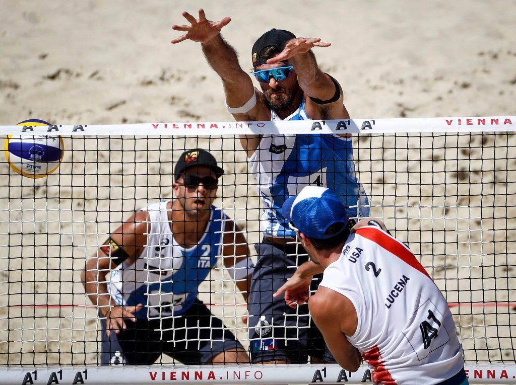 Alex Ranghieri e Adrian Carambula sconfitti ai Mondiali di Beach Volley 2017 a Vienna