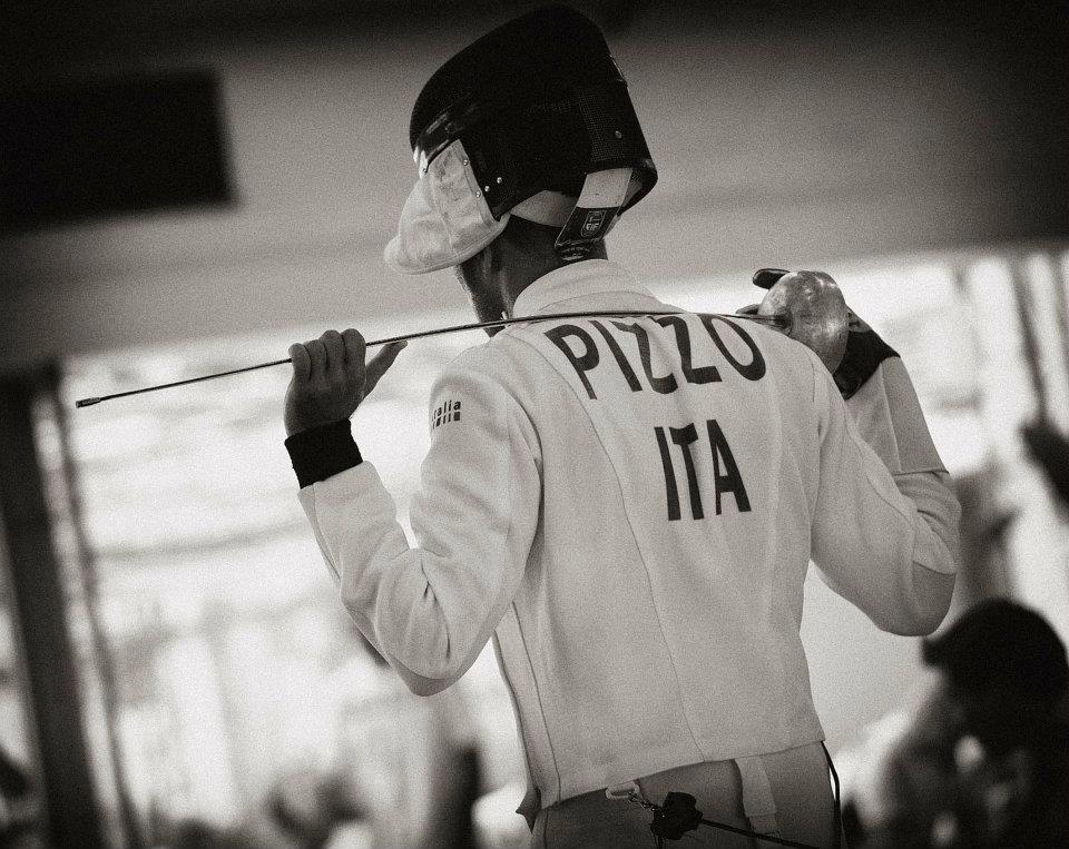Paolo Pizzo, campione del mondo in carica di spada
