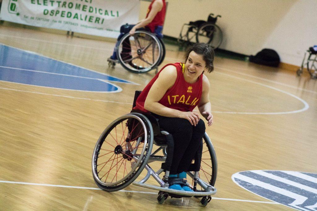 Chiara Coltri, l'intervista al capitano della nazionale femminile di basket in carrozzina e vicepresidente della Federazione Italiana Pallacanestro in Carrozzina.