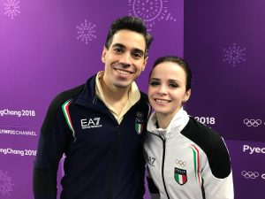 Luca Lanotte e Anna Cappellini alle Olimpiadi invernali 2018