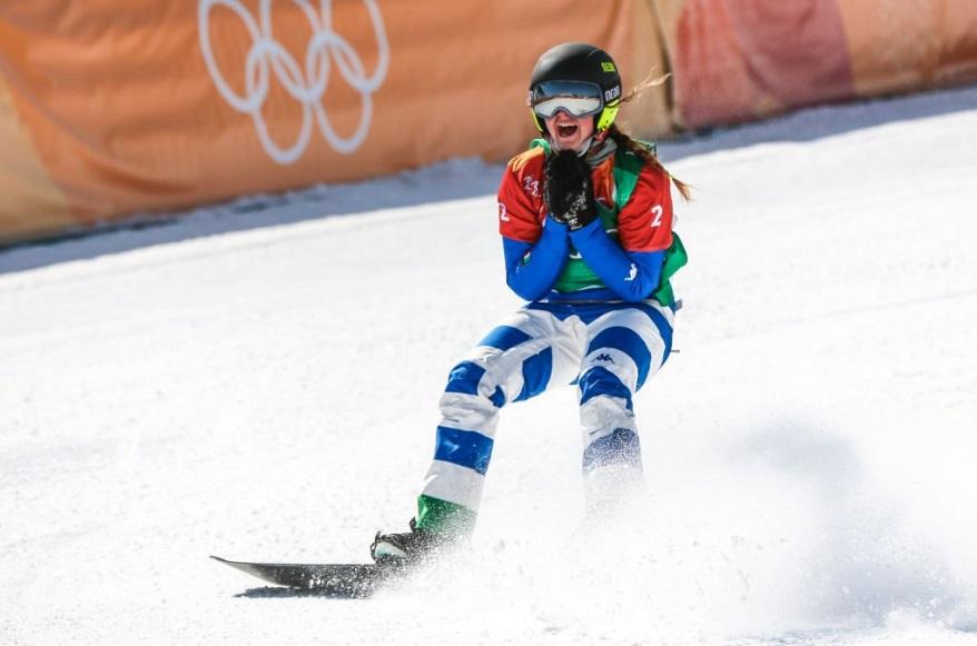 Michela Moioli alle Olimpiadi di PyeongChang 2018