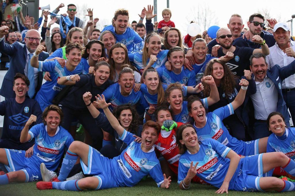 Calcio femminile, serie A: il Brescia batte la Juventus a Torino