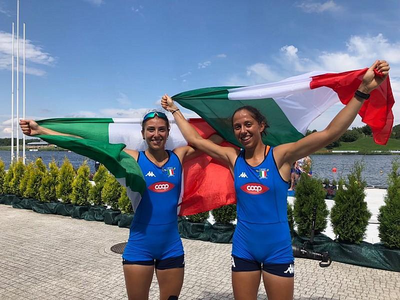 Canottaggio, mondiali under 23: a Poznan è grande Italia. Gli azzurrini conquistano 12 medaglie di cui 3 d'oro e sono secondi nel medagliere generale.