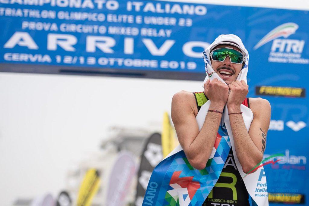 triathlon olimpico campionato italiano 2019 michele sarzilla italia italy cervia ilaria zane senior ; Nicola Azzano e Alessandra Tamburri under 23 titoli nazionali