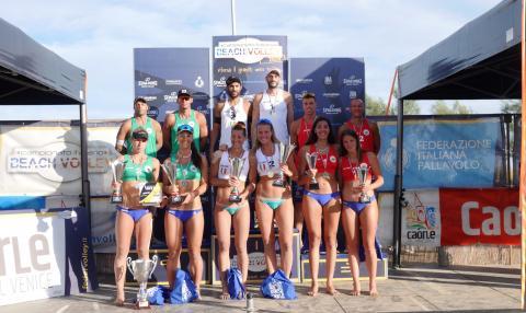 Il podio dei Campionati Assoluti Italiani 2020